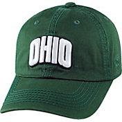 Top of the World Men's Ohio Bobcats Green Crew Adjustable Hat