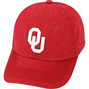 Top of the World Men's Oklahoma Sooners Crimson Crew Adjustable Hat