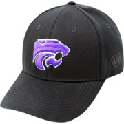 Top of the World Men's Kansas State Wildcats Black Premium Collection M-Fit Hat
