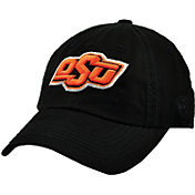 Top of the World Men's Oklahoma State Cowboys Black Crew Adjustable Hat