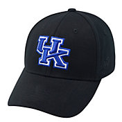 Top of the World Men's Kentucky Wildcats Black Premium Collection M-Fit Hat