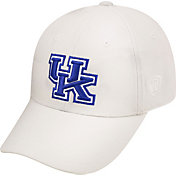 Top of the World Men's Kentucky Wildcats White Premium Collection M-Fit Hat