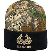 Top of the World Men's Illinois Fighting Illini Camo/Blue Realtree Cool Beanie