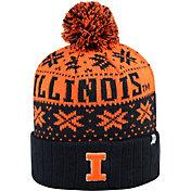 Top of the World Men's Illinois Fighting Illini Blue/Orange Sub Arctic Knit Beanie