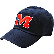 Top of the World Men's Ole Miss Rebels Blue Crew Adjustable Hat