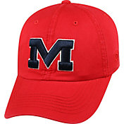 Top of the World Men's Ole Miss Rebels Red Crew Adjustable Hat