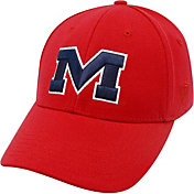 Top of the World Men's Ole Miss Rebels Red Premium Collection M-Fit Hat