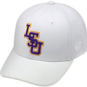 Top of the World Men's LSU Tigers White Premium Collection M-Fit Hat