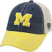 Top of the World Men's Michigan Wolverines Blue/White/Maize Off Road Adjustable Hat