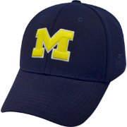 Top of the World Men's Michigan Wolverines Blue Premium Collection M-Fit Hat