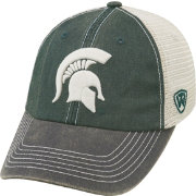 Top of the World Men's Michigan State Spartans Green/White/Black Off Road Adjustable Hat