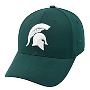 Top of the World Men's Michigan State Spartans Green Premium Collection M-Fit Hat
