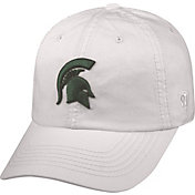 Top of the World Men's Michigan State Spartans White Crew Adjustable Hat