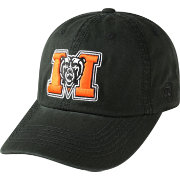 Top of the World Men's Mercer Bears Crew Black Adjustable Hat