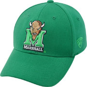Top of the World Men's Marshall Thundering Herd Green Premium Collection M-Fit Hat