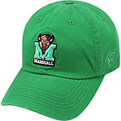 Top of the World Men's Marshall Thundering Herd Green Crew Adjustable Hat