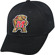 Top of the World Men's Maryland Terrapins Black Premium Collection M-Fit Hat