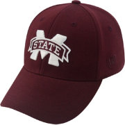Top of the World Men's Mississippi State Bulldogs Maroon Premium Collection M-Fit Hat