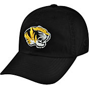 Top of the World Men's Missouri Tigers Black Crew Adjustable Hat