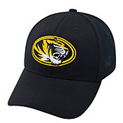 Top of the World Men's Missouri Tigers Black Premium Collection M-Fit Hat