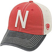 Top of the World Men's Nebraska Cornhuskers Scarlet/White/Black Off Road Adjustable Hat