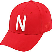Top of the World Men's Nebraska Cornhuskers Scarlet Premium Collection M-Fit Hat