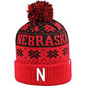 Top of the World Men's Nebraska Cornhuskers Scarlet/Black Sub Arctic Knit Beanie