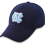 Top of the World Men's North Carolina Tar Heels Navy Premium Collection M-Fit Hat