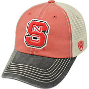 Top of the World Men's NC State Wolfpack Red/White/Black Off Road Adjustable Hat