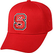 Top of the World Men's NC State Wolfpack Red Crew Adjustable Hat