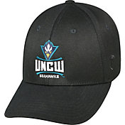 Top of the World Men's UNC-Wilmington Seahawks Black Premium Collection M-Fit Hat