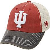 Top of the World Men's Indiana Hoosiers Crimson/Cream/Grey Off Road Adjustable Hat