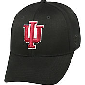 Top of the World Men's Indiana Hoosiers Black Premium Collection M-Fit Hat