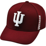 Top of the World Men's Indiana Hoosiers Crimson Booster 1Fit Flex Hat