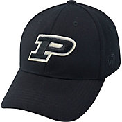 Top of the World Men's Purdue Boilermakers Black Premium Collection M-Fit Hat