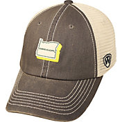 Top of the World Men's Oregon Ducks Grey/White United Adjustable Snapback Hat