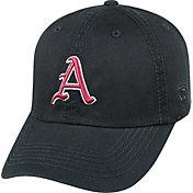 Top of the World Men's Arkansas Razorbacks Black Crew Adjustable Hat
