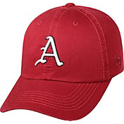 Top of the World Men's Arkansas Razorbacks Cardinal Crew Adjustable Hat
