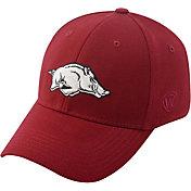 Top of the World Men's Arkansas Razorbacks Cardinal Premium Collection M-Fit Hat
