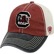 Top of the World Men's South Carolina Gamecocks Garnet/White/Black Off Road Adjustable Hat
