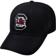 Top of the World Men's South Carolina Gamecocks Black Premium Collection M-Fit Hat