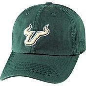 Top of the World Men's South Florida Bulls Green Crew Adjustable Hat