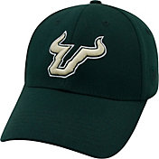 Top of the World Men's South Florida Bulls Green 1Fit Hat