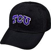 Top of the World Men's TCU Horned Frogs Black Crew Adjustable Hat