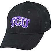Top of the World Men's TCU Horned Frogs Black Premium Collection M-Fit Hat