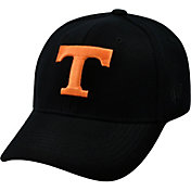 Top of the World Men's Tennessee Volunteers Black Premium Collection M-Fit Hat