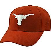 Top of the World Men's Texas Longhorns Burnt Orange Premium Collection M-Fit Hat