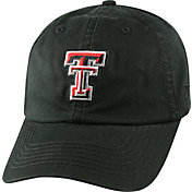 Top of the World Men's Texas Tech Red Raiders Black Crew Adjustable Hat