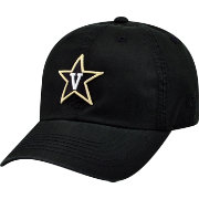 Top of the World Men's Vanderbilt Commodores Black Crew Adjustable Hat