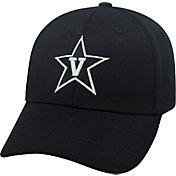 Top of the World Men's Vanderbilt Commodores Black Premium Collection M-Fit Hat